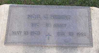 HEBERT, NOIL G  (VETERAN) - Calcasieu County, Louisiana | NOIL G  (VETERAN) HEBERT - Louisiana Gravestone Photos