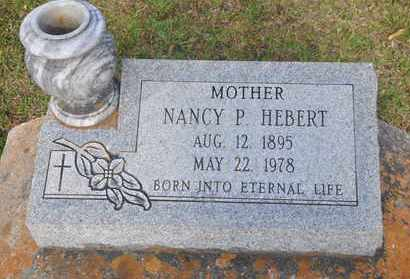 HEBERT, NANCY GERTRUDE - Calcasieu County, Louisiana | NANCY GERTRUDE HEBERT - Louisiana Gravestone Photos