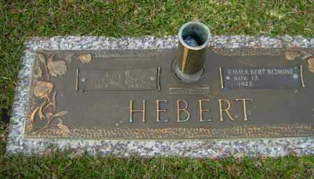 HEBERT, RAY B. - Calcasieu County, Louisiana | RAY B. HEBERT - Louisiana Gravestone Photos