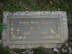 HEBERT, YVONNE MARIE THERESA - Calcasieu County, Louisiana | YVONNE MARIE THERESA HEBERT - Louisiana Gravestone Photos