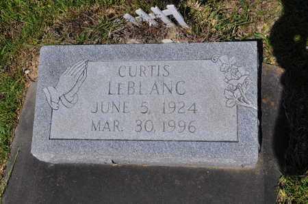 LEBLANC, CURTIS - Calcasieu County, Louisiana | CURTIS LEBLANC - Louisiana Gravestone Photos
