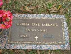LEBLANC, GLORIA FAYE - Calcasieu County, Louisiana | GLORIA FAYE LEBLANC - Louisiana Gravestone Photos