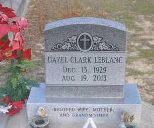 LEBLANC, HAZEL - Calcasieu County, Louisiana | HAZEL LEBLANC - Louisiana Gravestone Photos
