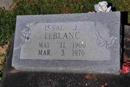 LEBLANC, ISAAC J - Calcasieu County, Louisiana   ISAAC J LEBLANC - Louisiana Gravestone Photos