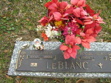 LEBLANC, LEE DREW - Calcasieu County, Louisiana | LEE DREW LEBLANC - Louisiana Gravestone Photos