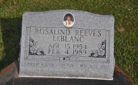 LEBLANC, ROSALIND - Calcasieu County, Louisiana | ROSALIND LEBLANC - Louisiana Gravestone Photos