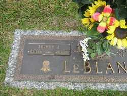 LEBLANC, SIDNEY J. - Calcasieu County, Louisiana | SIDNEY J. LEBLANC - Louisiana Gravestone Photos