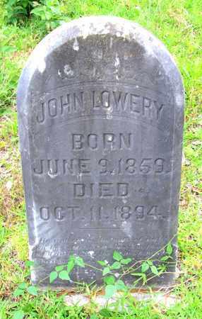 LOWERY, JOHN - Calcasieu County, Louisiana | JOHN LOWERY - Louisiana Gravestone Photos