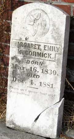 MCCORMICK, MARGARET EMILY - Calcasieu County, Louisiana | MARGARET EMILY MCCORMICK - Louisiana Gravestone Photos