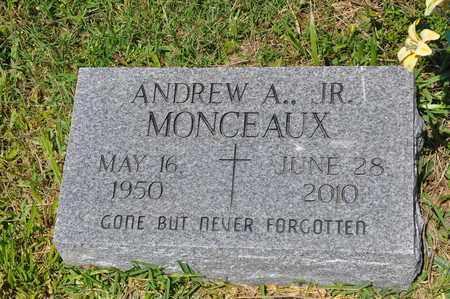 MONCEAUX, ANDREW A, JR - Calcasieu County, Louisiana | ANDREW A, JR MONCEAUX - Louisiana Gravestone Photos