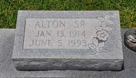 MONCEAUX, ALTON, SR  (CLOSEUP) - Calcasieu County, Louisiana | ALTON, SR  (CLOSEUP) MONCEAUX - Louisiana Gravestone Photos