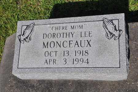 MONCEAUX, DOROTHY LEE - Calcasieu County, Louisiana | DOROTHY LEE MONCEAUX - Louisiana Gravestone Photos
