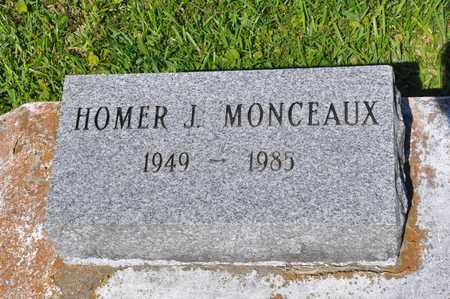 MONCEAUX, HOMER J - Calcasieu County, Louisiana | HOMER J MONCEAUX - Louisiana Gravestone Photos