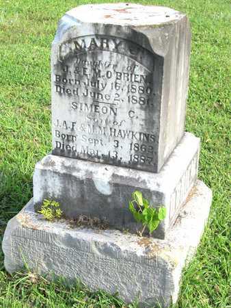 O'BRIEN, MARY J - Calcasieu County, Louisiana   MARY J O'BRIEN - Louisiana Gravestone Photos