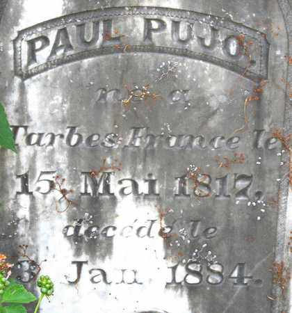 PUJO, PAUL (CLOSEUP) - Calcasieu County, Louisiana   PAUL (CLOSEUP) PUJO - Louisiana Gravestone Photos