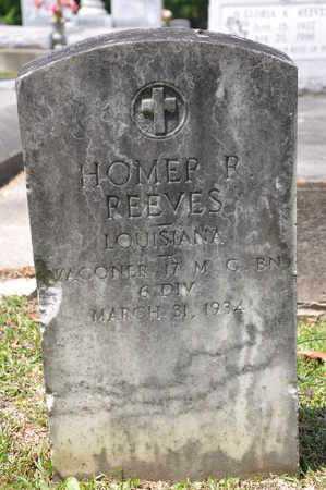 REEVES, HOMER R  (VETERAN) - Calcasieu County, Louisiana | HOMER R  (VETERAN) REEVES - Louisiana Gravestone Photos