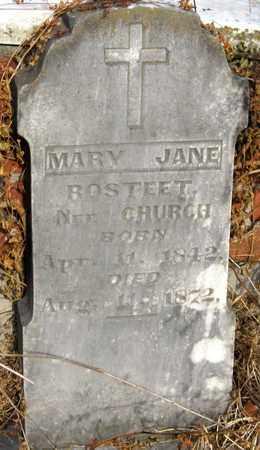 ROSTEET, MARY JANE - Calcasieu County, Louisiana | MARY JANE ROSTEET - Louisiana Gravestone Photos