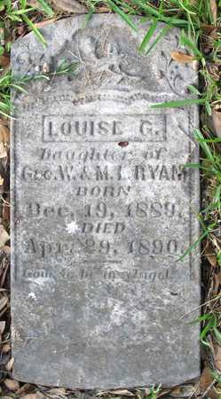 RYAN, LOUISE G - Calcasieu County, Louisiana | LOUISE G RYAN - Louisiana Gravestone Photos