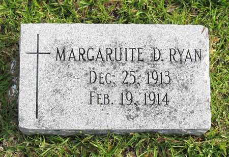 RYAN, MARGARUITE D - Calcasieu County, Louisiana | MARGARUITE D RYAN - Louisiana Gravestone Photos