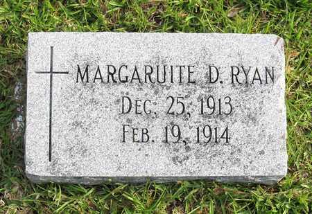 RYAN, MARGARUITE D - Calcasieu County, Louisiana | MARGARUITE D RYAN - Louisiana Gravestone Photos