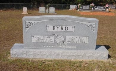 RAY BYRD, ZERA A. - Caldwell County, Louisiana | ZERA A. RAY BYRD - Louisiana Gravestone Photos
