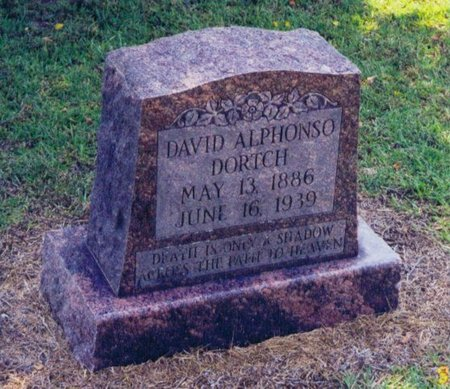 DORTCH, DAVID ALPHONSO - Caldwell County, Louisiana | DAVID ALPHONSO DORTCH - Louisiana Gravestone Photos