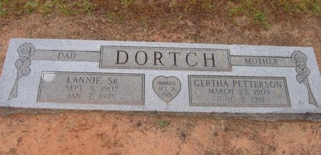 DORTCH, GERTHA - Caldwell County, Louisiana | GERTHA DORTCH - Louisiana Gravestone Photos