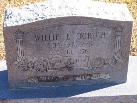 DORTCH, WILLIAM LEGGITT - Caldwell County, Louisiana | WILLIAM LEGGITT DORTCH - Louisiana Gravestone Photos