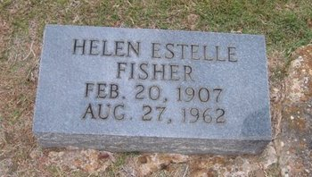 FISHER, HELEN ESTELLE - Caldwell County, Louisiana   HELEN ESTELLE FISHER - Louisiana Gravestone Photos
