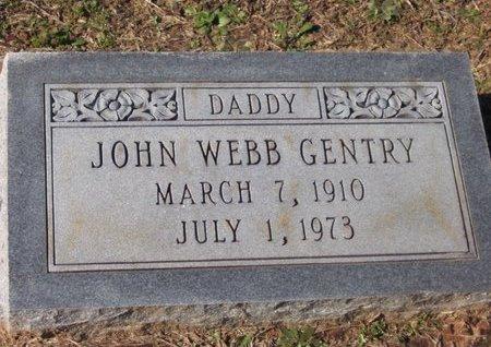 GENTRY, JOHN WEBB - Caldwell County, Louisiana | JOHN WEBB GENTRY - Louisiana Gravestone Photos