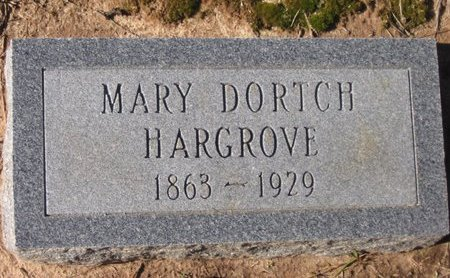 DORTCH HARGROVE, MARY M - Caldwell County, Louisiana | MARY M DORTCH HARGROVE - Louisiana Gravestone Photos