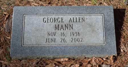 MANN, GEORGE ALLEN - Caldwell County, Louisiana | GEORGE ALLEN MANN - Louisiana Gravestone Photos