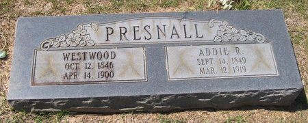 ROBINSON PRESNALL, ADALINE VIRGINIA (ADDIE) - Caldwell County, Louisiana | ADALINE VIRGINIA (ADDIE) ROBINSON PRESNALL - Louisiana Gravestone Photos