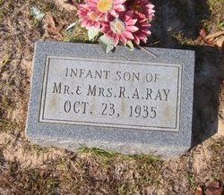 RAY, INFANT SON - Caldwell County, Louisiana | INFANT SON RAY - Louisiana Gravestone Photos