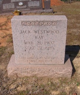 RAY, JACK WESTWOOD  (VETERAN WWII) - Caldwell County, Louisiana | JACK WESTWOOD  (VETERAN WWII) RAY - Louisiana Gravestone Photos