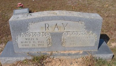 RAY, WILEY KEMP - Caldwell County, Louisiana | WILEY KEMP RAY - Louisiana Gravestone Photos