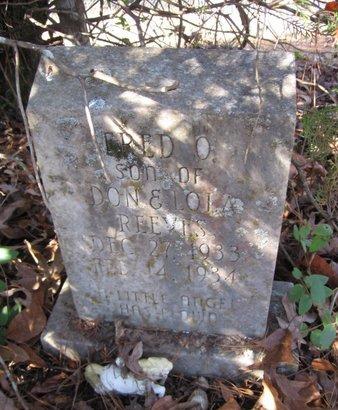REEVES, FRED O. - Caldwell County, Louisiana | FRED O. REEVES - Louisiana Gravestone Photos