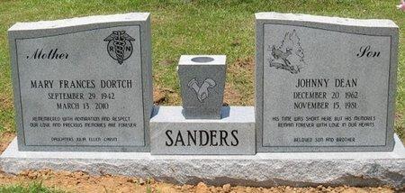 DORTCH SANDERS, MARY FRANCES - Caldwell County, Louisiana | MARY FRANCES DORTCH SANDERS - Louisiana Gravestone Photos