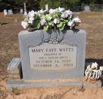 WATTS, MARY FAYE - Caldwell County, Louisiana | MARY FAYE WATTS - Louisiana Gravestone Photos