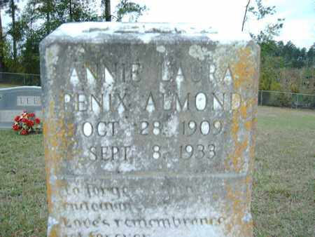 PENIX ALMOND, ANNIE LAURA - Claiborne County, Louisiana | ANNIE LAURA PENIX ALMOND - Louisiana Gravestone Photos