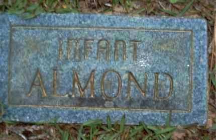 ALMOND, INFANT - Claiborne County, Louisiana | INFANT ALMOND - Louisiana Gravestone Photos