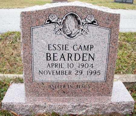 BEARDEN, ESSIE - Claiborne County, Louisiana   ESSIE BEARDEN - Louisiana Gravestone Photos