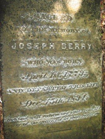 BERRY, JOSEPH - Claiborne County, Louisiana | JOSEPH BERRY - Louisiana Gravestone Photos