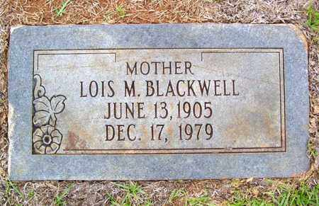 BLACKWELL, LOIS M - Claiborne County, Louisiana | LOIS M BLACKWELL - Louisiana Gravestone Photos
