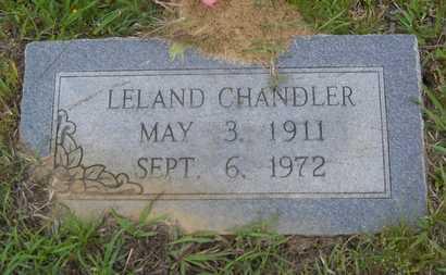 CHANDLER, LELAND - Claiborne County, Louisiana   LELAND CHANDLER - Louisiana Gravestone Photos