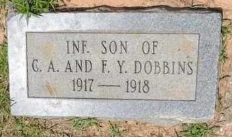 DOBBINS, INFANT SON - Claiborne County, Louisiana | INFANT SON DOBBINS - Louisiana Gravestone Photos