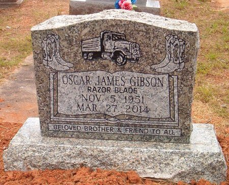 GIBSON, OSCAR JAMES - Claiborne County, Louisiana   OSCAR JAMES GIBSON - Louisiana Gravestone Photos
