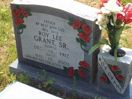 GRANT, ROY LEE, SR - Claiborne County, Louisiana | ROY LEE, SR GRANT - Louisiana Gravestone Photos