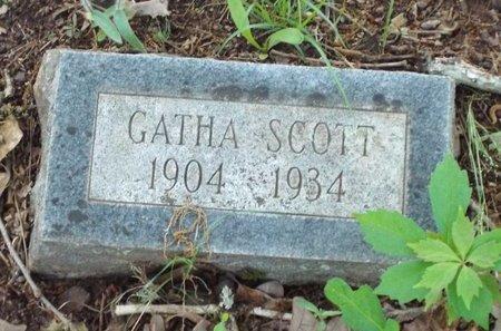 SCOTT, GATHA - Claiborne County, Louisiana | GATHA SCOTT - Louisiana Gravestone Photos