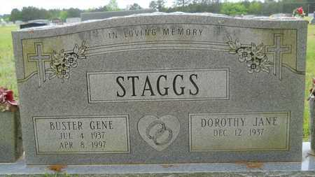 STAGGS, BUSTER GENE - Claiborne County, Louisiana | BUSTER GENE STAGGS - Louisiana Gravestone Photos